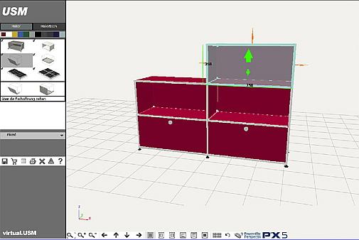 usm m bel konfigurator page online. Black Bedroom Furniture Sets. Home Design Ideas