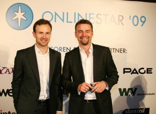 Michael Willeke (Director Marketing Communications CocaCola), Lars Lehne (Country Director Agency Google)
