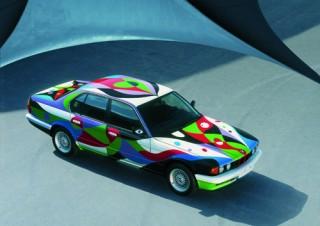 César Manrique, Art Car, 1990 - BMW 730i (12/2003)