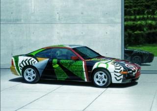 David Hockney, Art Car, 1995 - BMW 850 CSi (12/2003)
