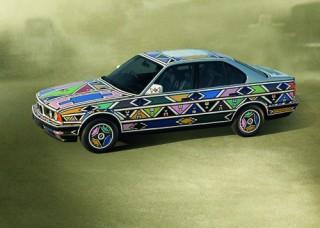Esther Mahlangu, Art Car, 1992 - BMW 525i (12/2003)