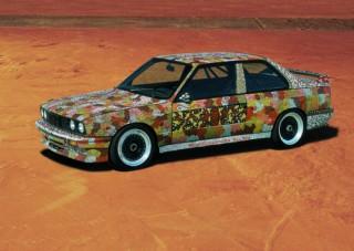 Michael Jagamara Nelson, Art Car, 1989 - BMW M3 Gruppe A Rennversion (12/2003)