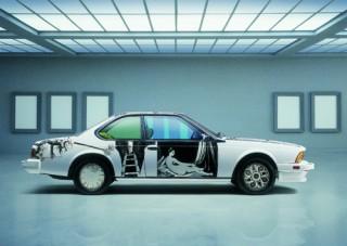 Robert Rauschenberg, Art Car, 1986 - BMW 635 CSi (12/2003)