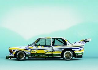Roy Lichtenstein, Art Car, 1977 - BMW 320i Gruppe 5 Rennversion (12/2003)