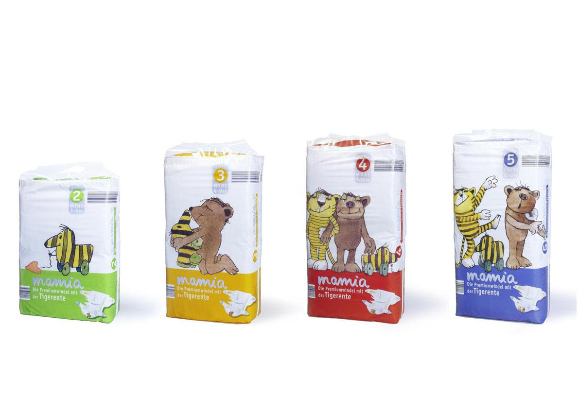 mamia-Babywindeln-Packaging