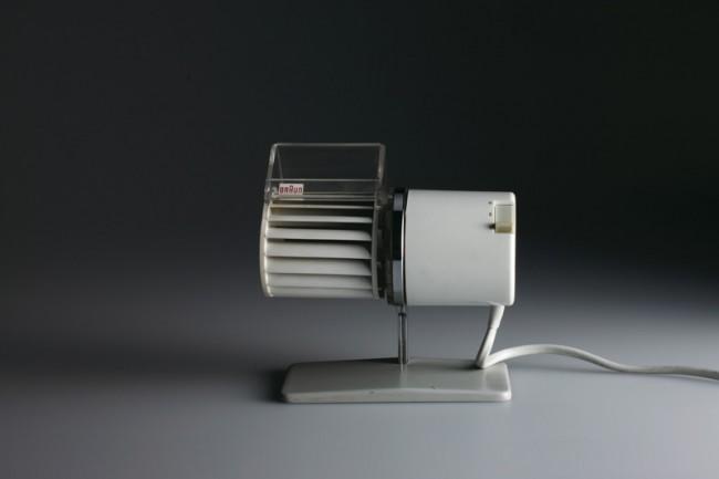 L+M-11: Braun Tischlüfter »HL 1« von 1961, Design: Reinhold Weiss, Foto: Koichi Okuwaki