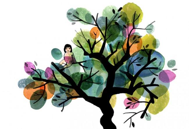 Das Mädchen im Baum | DB Mobil, 2009