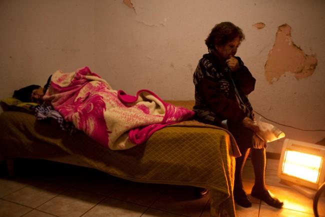 Jerome Sessini aus Frankreich beleuchtet die Gewalt zwischen Regierung, Drogenkartellen und Zivilisten in Mexiko.