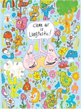 »Lungtastic«, Jon Burgerman