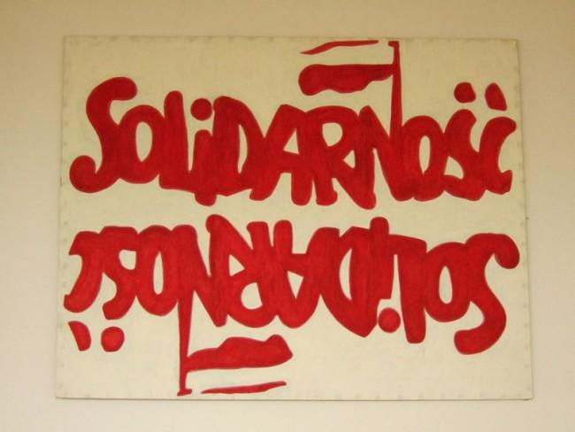 Marek Sobczyk, What? Repetition [Solidarity], 2001 – 2004 | Courtesy: Marek Sobczyk