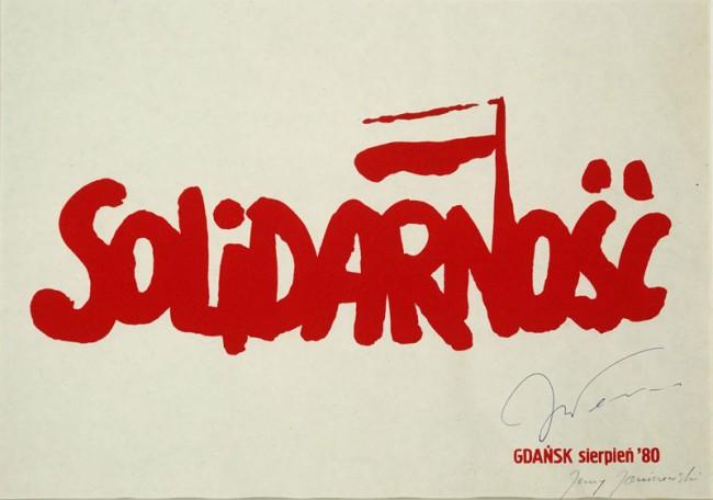 Jerzy Janiszewski, Solidarność-Logo, 1980 | Courtesy: Jerzy Janiszewski