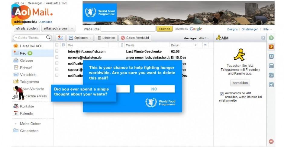 »Banner«: Bronze - Mülltonnenbanner von Plan.NET (Kunde: UN World Food Programme)