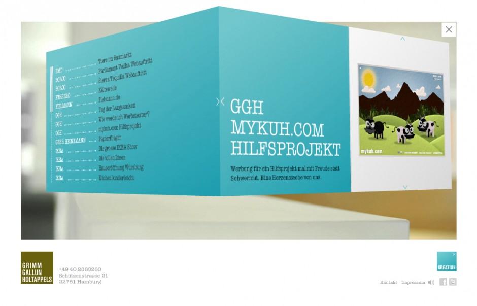 »Microsites«: Silber - Mykuh.de von Grimm Gallun Holtappels
