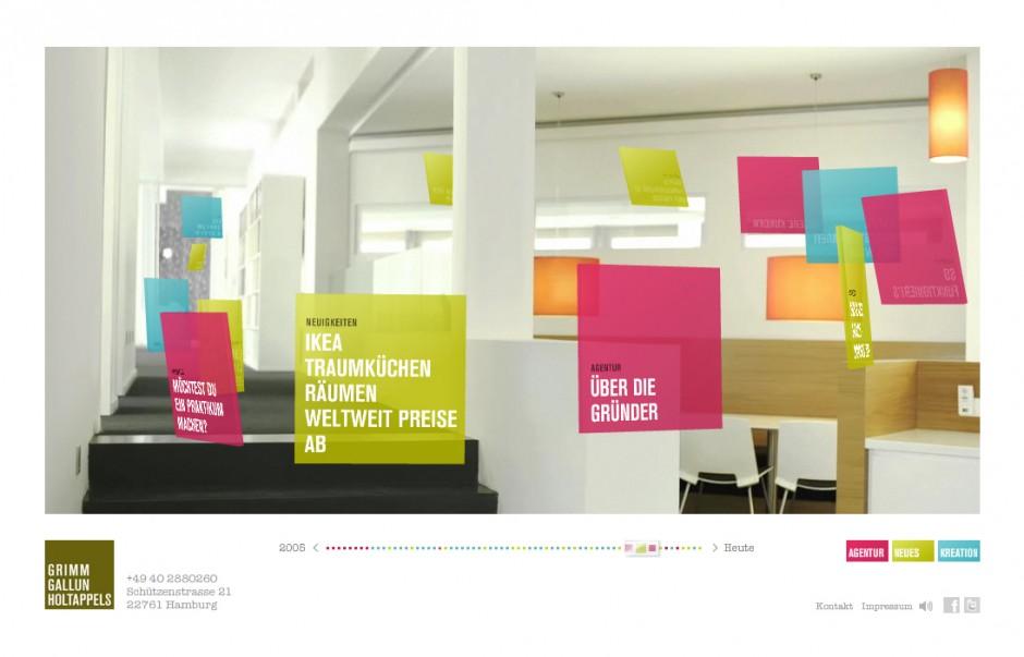 »Corporate Websites«: Gold - 2gh.de von Grimm Gallun Holtappels