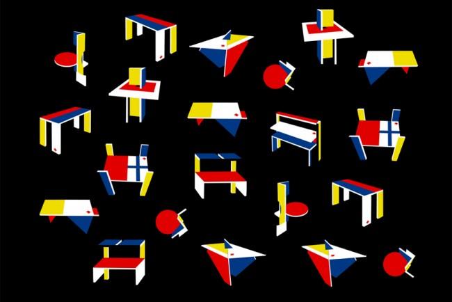 Flaggen Rietveld 1