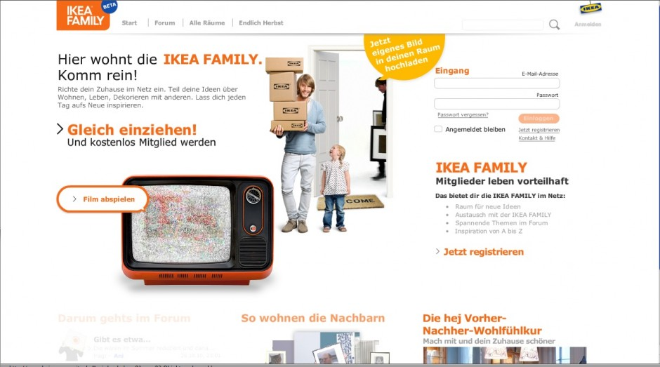 »Portale«: Bronze - Ikea hej Community von Ogilvy One