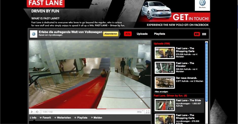 »Social Media«: Bronze - Fast Lane von DDB (Kunde: Volkswagen)
