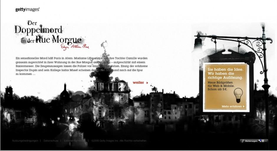 »Sonderformate«: Bronze - Die richtige Auflösung gibt es im Web von Red Urban (Kunde: Getty Images)