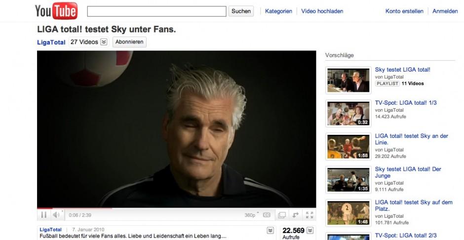 »Social Media«: Bronze - Sky hat keine Ahnung von Fußball von DDB (Kunde: Deutsche Telekom)