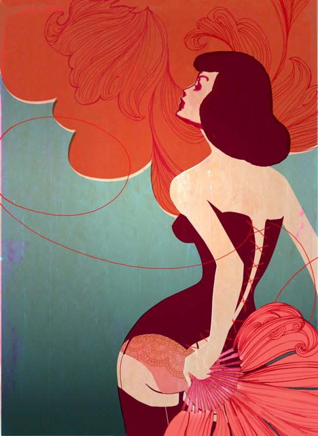 GLOW Burlesque IdN