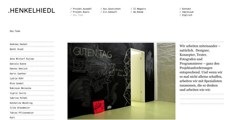 Silber für den Relaunch der eigenen Website von Henkelhiedl