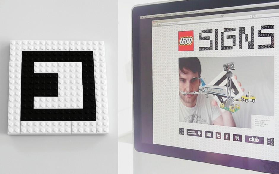 »Sonderformate«: Silber - Lego Signs von Plan.NET (Kunde: Lego)