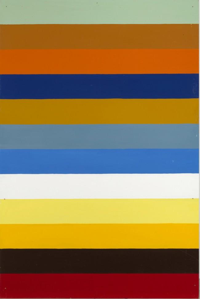 Poul Gernes: Untitled, 1965- 1966, 182 cm x 122 cm | Courtesy of Galleri Bo Bjerggaard, Klara Karolines Fond