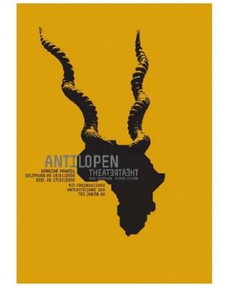 Plakate Gold Atelier Bundi für das Theater Biel Solothurn