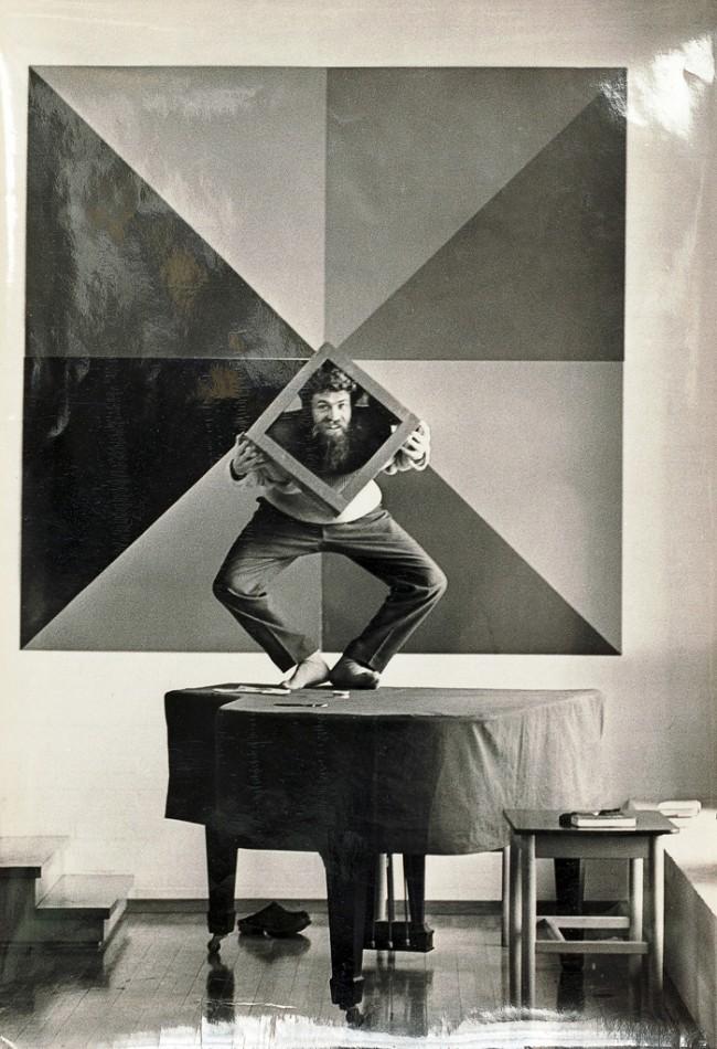 Poul Gernes, 1966 | Photo: Asger Sesingø. © Galerie Ben Kaufmann