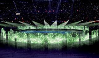 Gold für einen Teil der Eröffnungsfeier Olympic Games 2008 von Congaz Visual Media