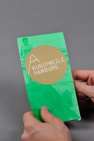 Kunstmeile Hamburg | Flyer