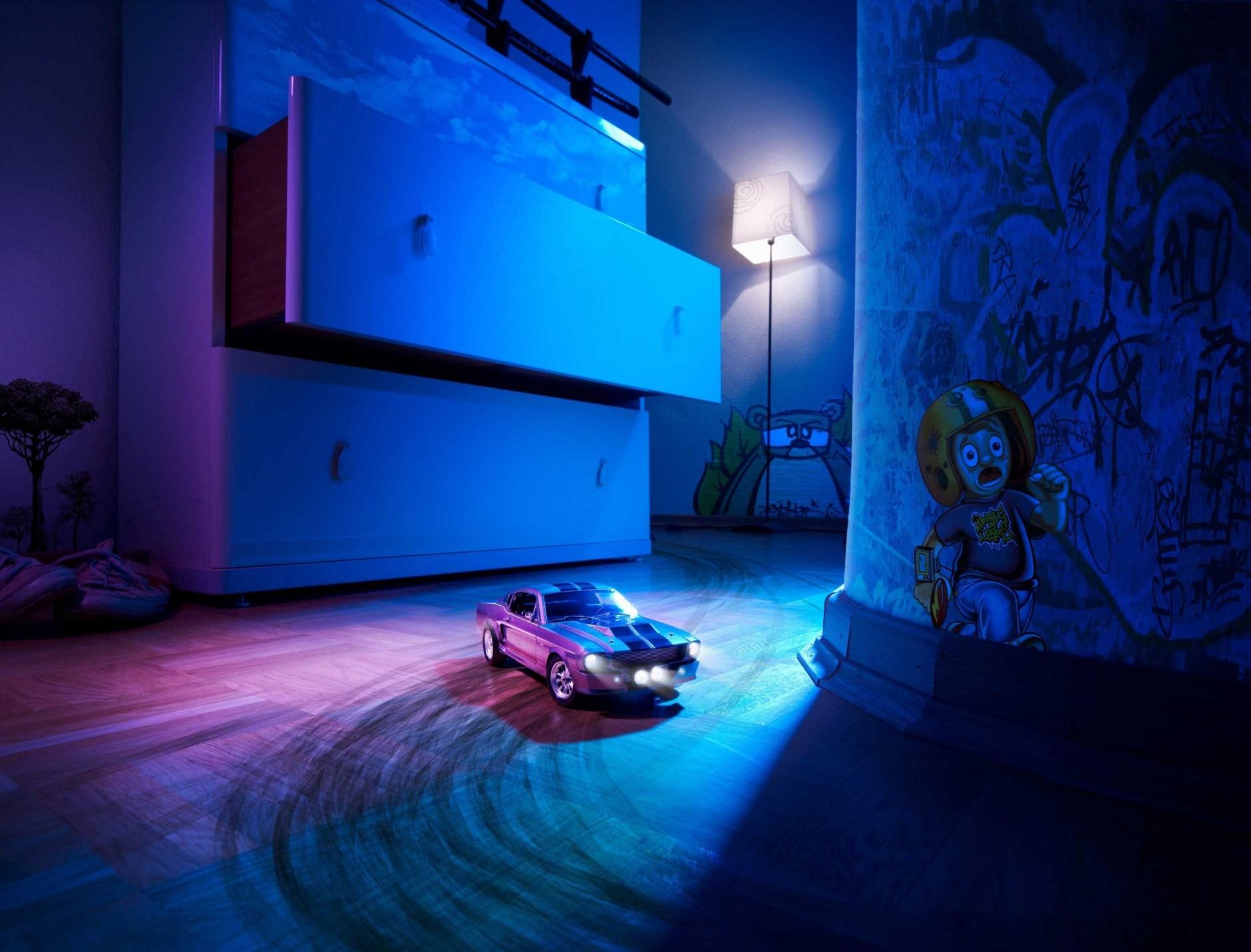 Nachts im Kinderzimmer von Thomas Schorn (Nachwuchsfoto)
