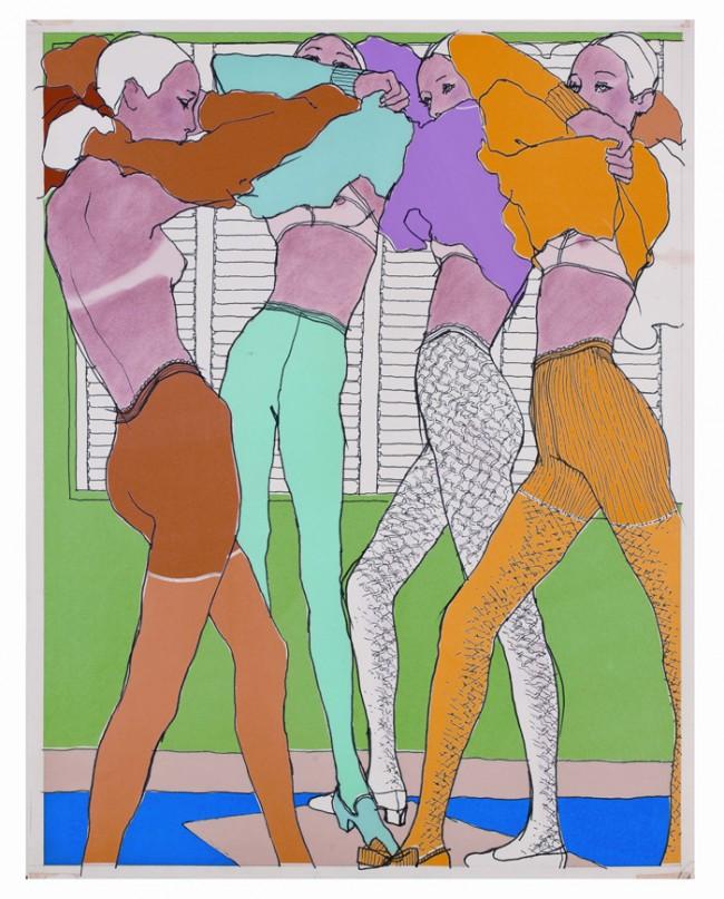 Drawing Fashion | Antonio - Lingerie Elle France, 1966.