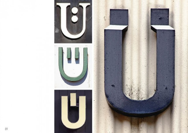 Hamburg Alphabet | Ü