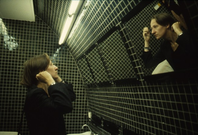 Nan Goldin, Suzanne in the green bathroom, Pergamon Museum, East Berlin 1984, © Nan Goldin / Courtesy Matthew Marks Gallery, New York