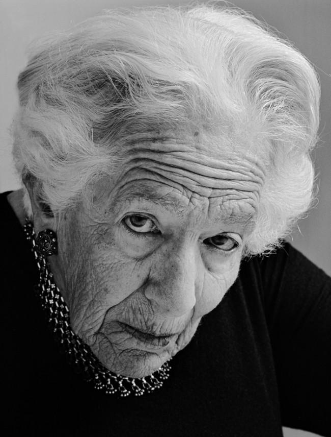 Jüdische Portraits, Grete Weil, München 1987, © Herlinde Koelbel