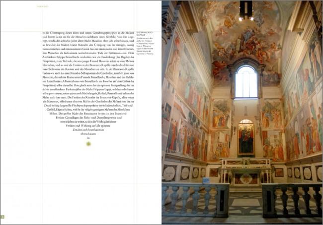 Konzeption und Gestaltung eines Sachbuches zur Brancacci-Kapelle in Florenz | Einführung in die Brancacci-Fresken