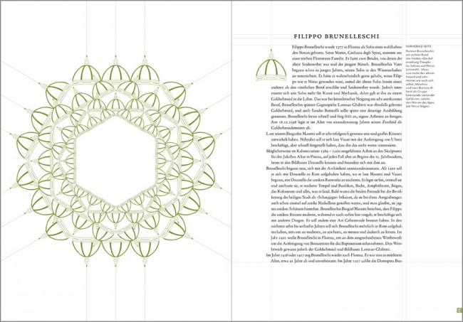 Konzeption und Gestaltung eines Sachbuches zur Brancacci-Kapelle in Florenz | Kapitel II Diplomarbeit - Bibliografie Lebenslauf des Architekten Filippo Brunelleschi