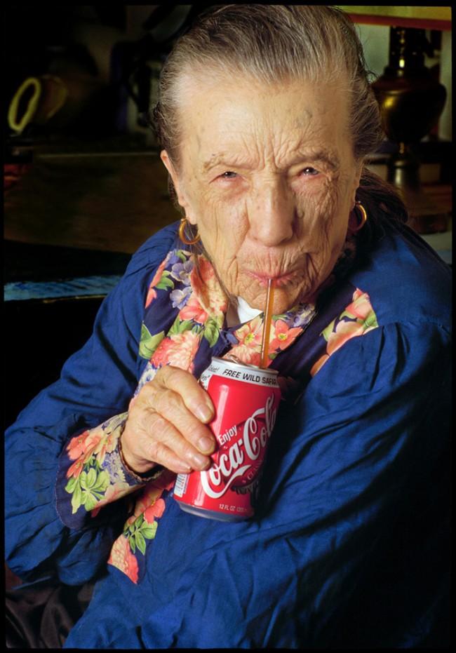Sein und Schein, Louise Bourgeois, New York 2001, © Herlinde Koelbel