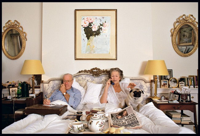 Schlafzimmer, London, London 2000, © Herlinde Koelbel
