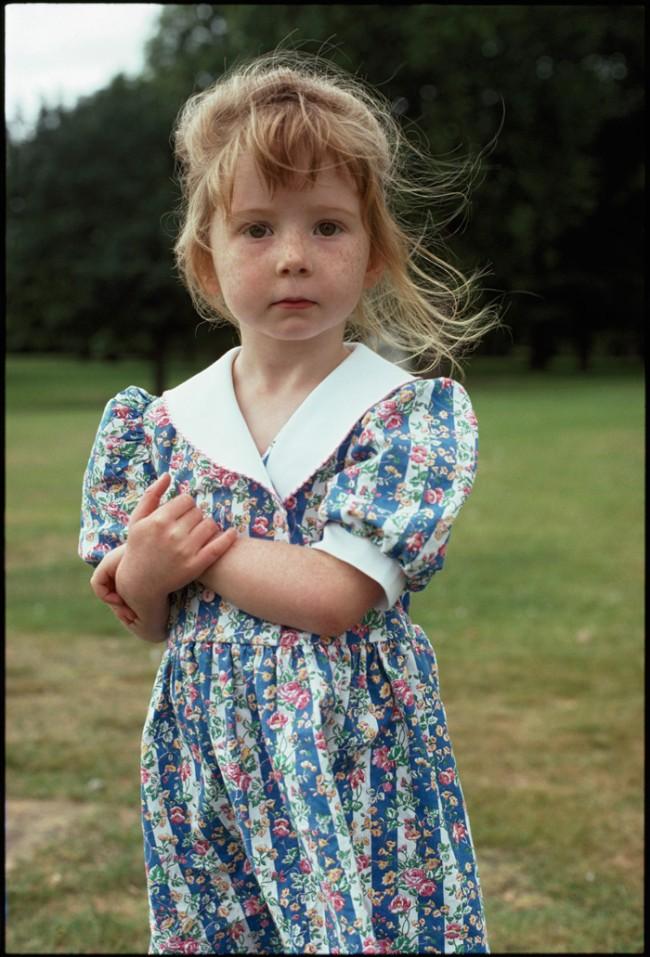 Kinder, Charlotte, London 1992, © Herlinde Koelbel