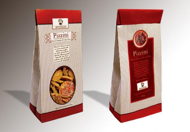 Pizzini-Pasta von Boccaccio | Neuentwicklung, Produktdesign und Packaging