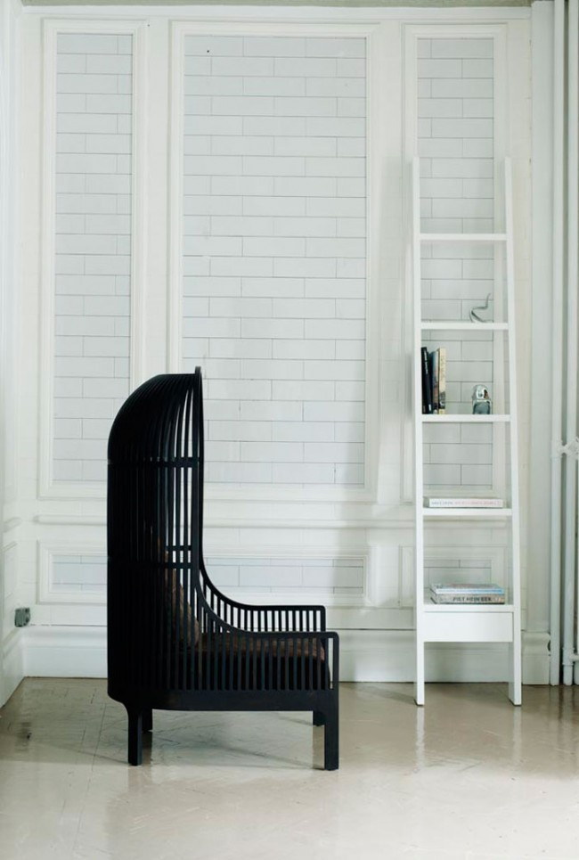 Autoban: Stuhl/Chair »Nest«, 2009; Regal/Shelf »Ladder«