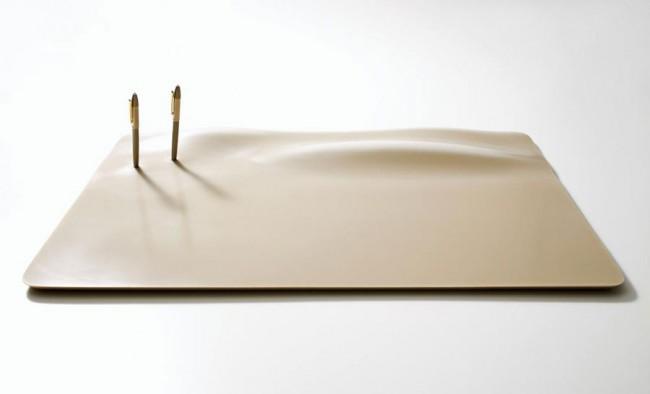 Demet Bilici: Schreibunterlage »Desert Core«, Prototyp, 2007