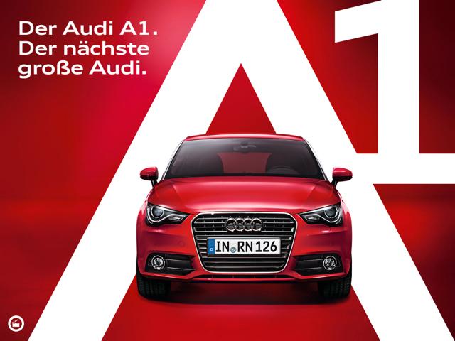 Audi A1-Katalog entwickelt von Philipp und Keuntje