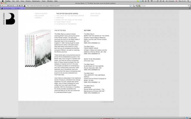 PenrhynBooks | Website