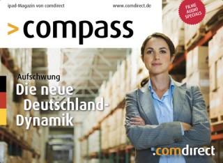 Gruner + Jahr Corporate Editors launcht die Kundenzeitschrift Compass der comdirect bank auf dem iPad.