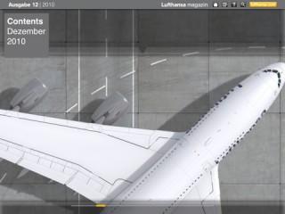 Gruner + Jahr Corporate Editors hat das Lufthansa-Magazin iPad-tauglich gemacht.