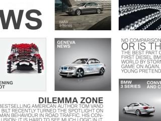 BMW Magazin auf dem iPad