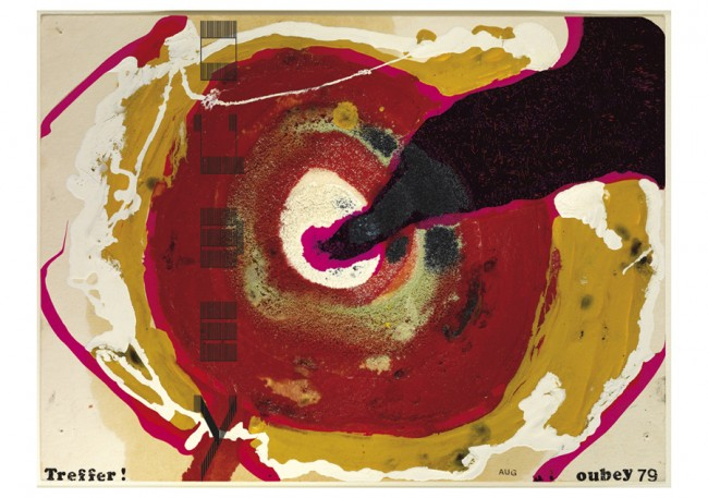 GREGOR 2011 – Preis der Jury des Graphischen Klubs Stuttgart  | E&B Kunstkalender Nr. 60 – OUBEY, 2011, © Udo W. Beier
